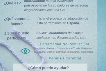 (es) Validación cuestionario de la experiencia del cuidador (ACEND)